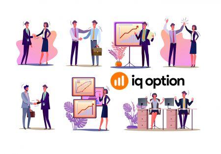 Cómo unirse al Programa de afiliados y convertirse en socio de IQ Option